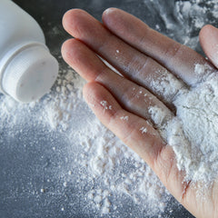 can baby powder remove coffee stians?