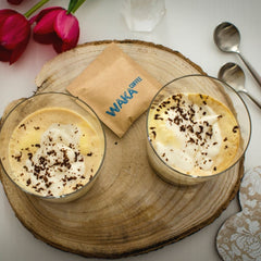 how to make affogato instant coffee