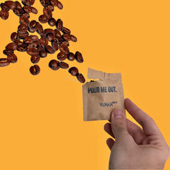 Waka Coffee instant coffee packets