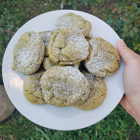 how to make delicious matcha cookies