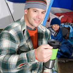 should you drink instant coffee on a camping trip