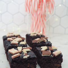 Coffee and beans brownie recipe using instant coffee