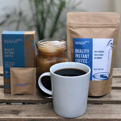 what is the best instant coffee? Waka Coffee is a quality instant coffee