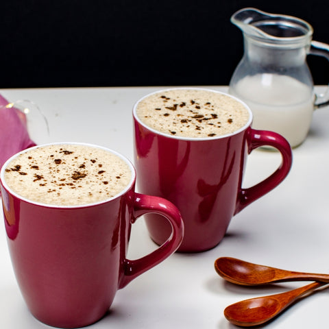 how to make the best eggnog coffee drink