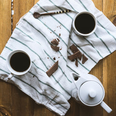 Delicious dark chocolate mocha with an easy to make recipe