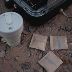 How do you take coffee when camping