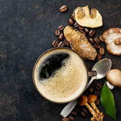 why would you add mushrooms in your instant coffee?