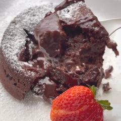 how to make instant coffee lava cake