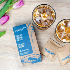 instant iced coffee packets