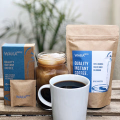 waka coffee is the best instant coffee to drink with your creamer