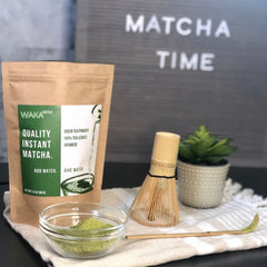 matcha powder vs. matcha tea