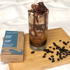 make good instant coffee iced