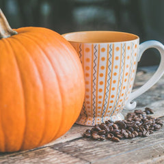 mix the best instant coffee with pumpkin spice