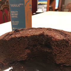 chocolate cake recipe with coffee and cocoa powder