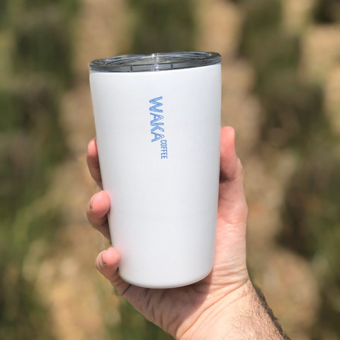 best coffee tumbler to take with you on a trip