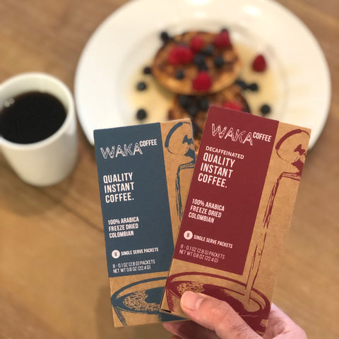 waka coffee freeze dried instant coffee