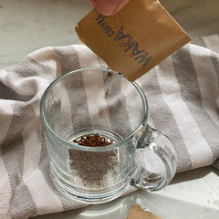 instant coffee or ground coffee