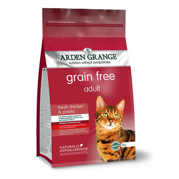 Arden Grange Adult Cat: fresh chicken & potato