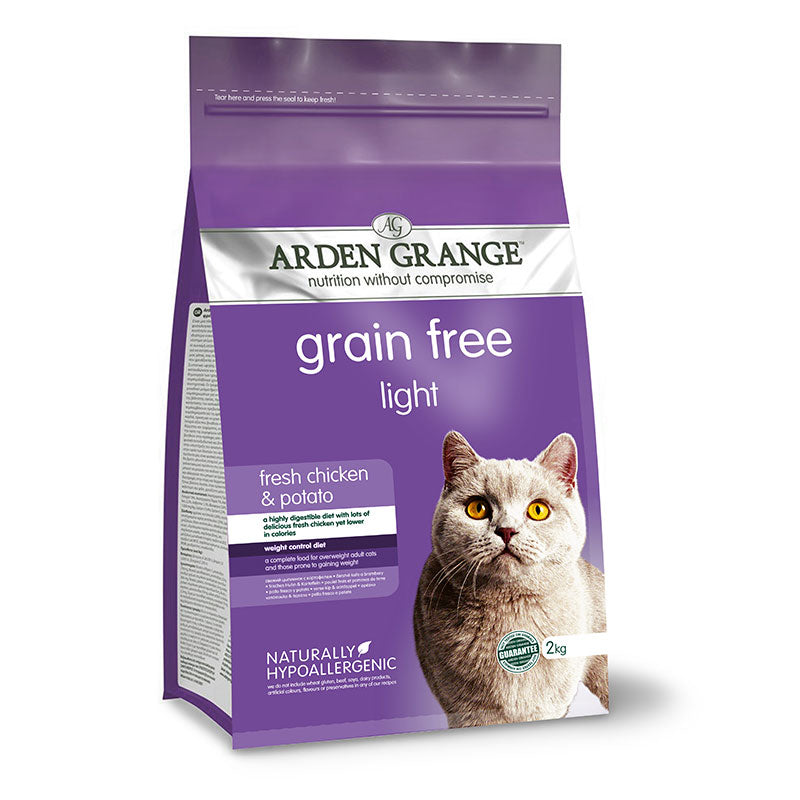 Arden Grange Adult Cat Light: fresh chicken & potato