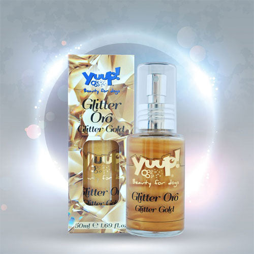 Yuup! Fashion Glitter Gold
