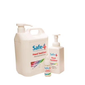 Safe4: Foam Sanitizer (Alcohol Free)