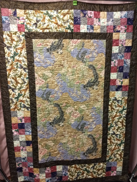Dragons and Dragonflies Quilt