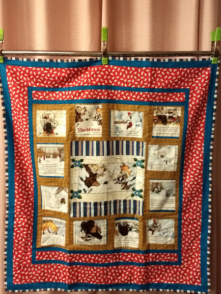 "Storybook Quilt ""The Mitten"""
