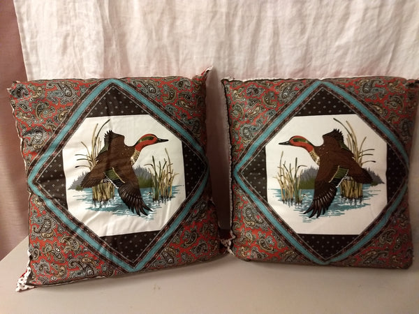 Mallard Throw Pillows