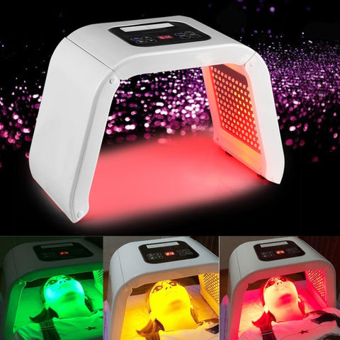 Professional Photon PDT Led Light Facial Mask Machine 7 Colors