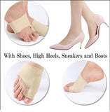 Gel Protection Sleeve Silicone Toes Separator Foot Bunion Support Hallux Valgus