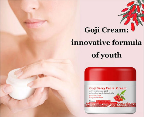 Goji Berry Facial Cream Eyes Creme Goji Oil Anti-aging Set
