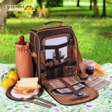 Picnic Bag for 2 New Cool Design Lunch Box with Gear