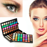 Natural 120 Color Super Light Eye Shadow Palette Cosmetics Makeup Set