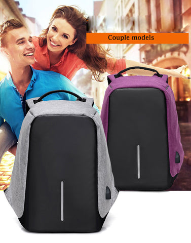 Travel Backpack Anti-theft Security Waterproof USB Charging