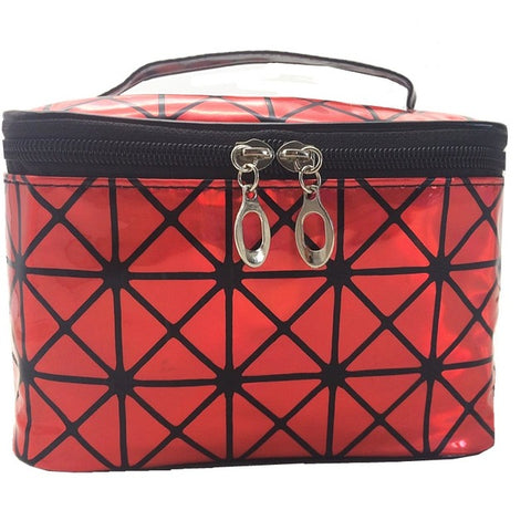 Cosmetic Storage Makeup Boxes PU Leather Cosmetic Storage Organizer