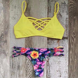 Sexy Swimwear Halter Bikini Beach Brazillian Set 2018