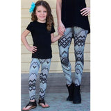 Mother Daughter Gym Stretch Leggings Pants Fitness Jogging Sports