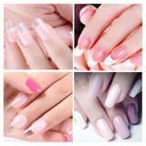 Nail Gel Transparent Hard Jelly Quick Building Extend Gum Poly Gel