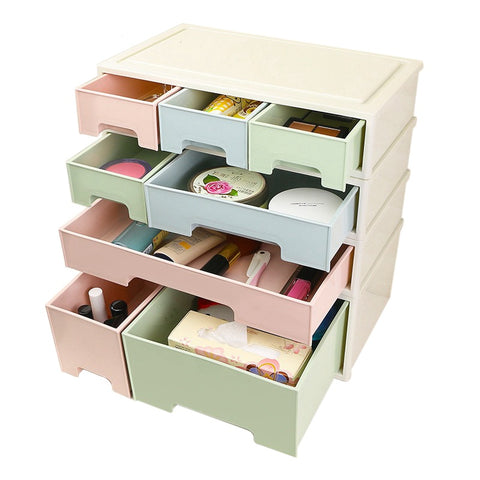 Desktop Storage Box Makeup Organizer Cosmetic Jewelry Container