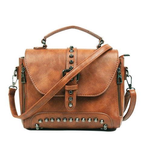 Vintage Leather Crossbody Bag Collection 2018