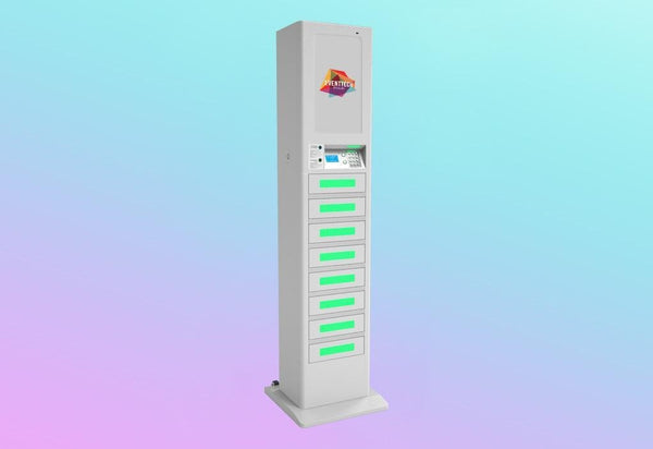 LOLA: Branded Cell Phone Charging Locker
