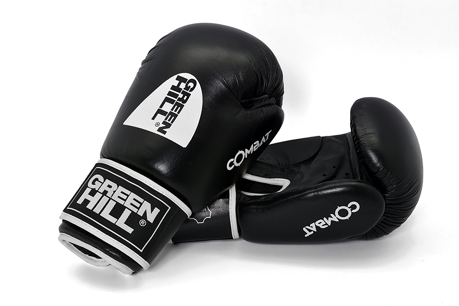 GreenHill Gloves Boxing PANTHER BLACK with Circle