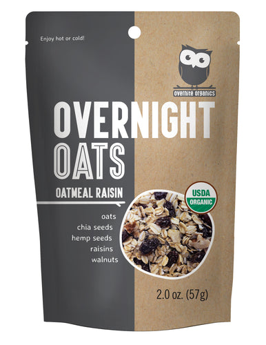 Oatmeal Raisin (10 Single-Serve Pouches)