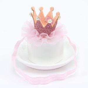 Girl's Shiny Cute Princess Tiara Hairband