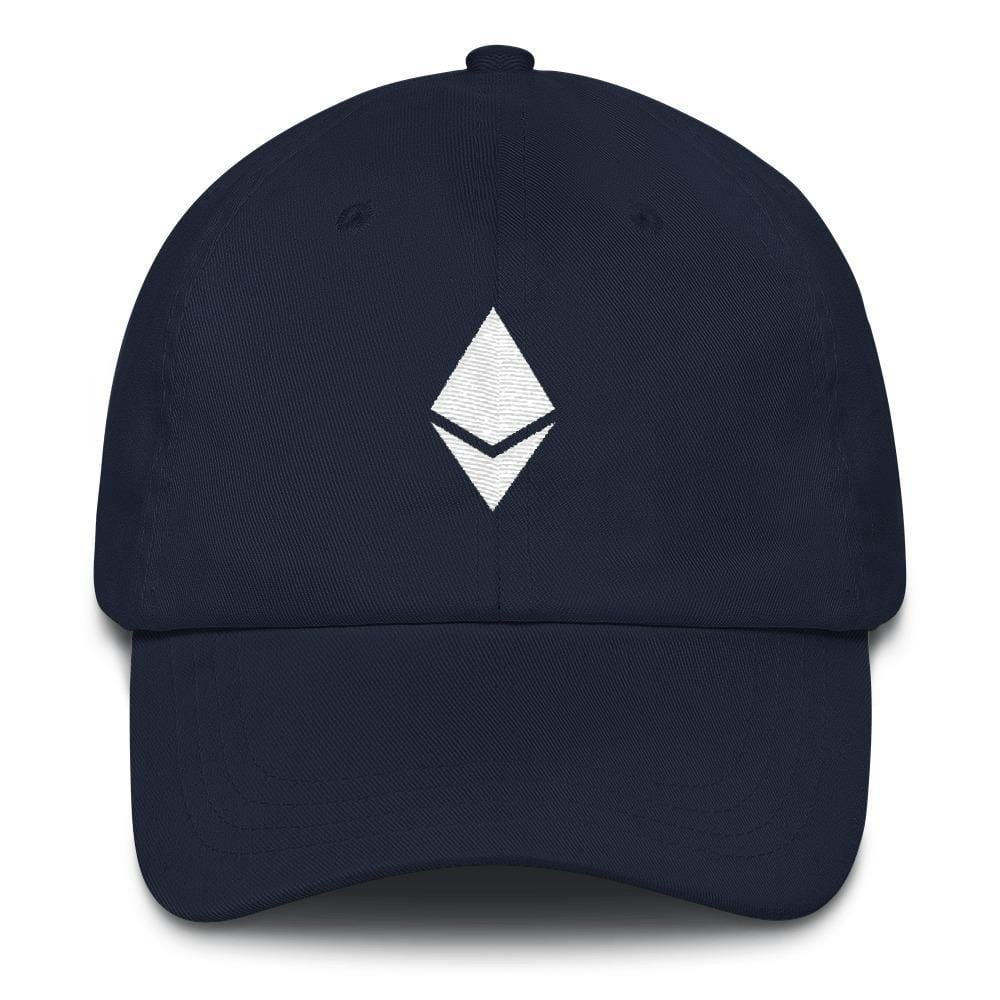 Ethereum Dad Hat-Navy-CryptoClothe