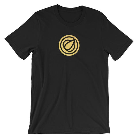 Garlicoin T-Shirt With Logo | Unisex-Black-S-CryptoClothe