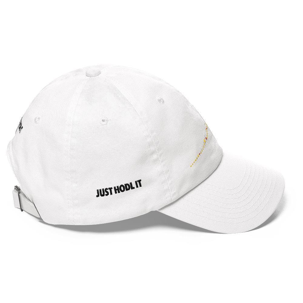 JUST HODL IT Dad Hat-CryptoClothe