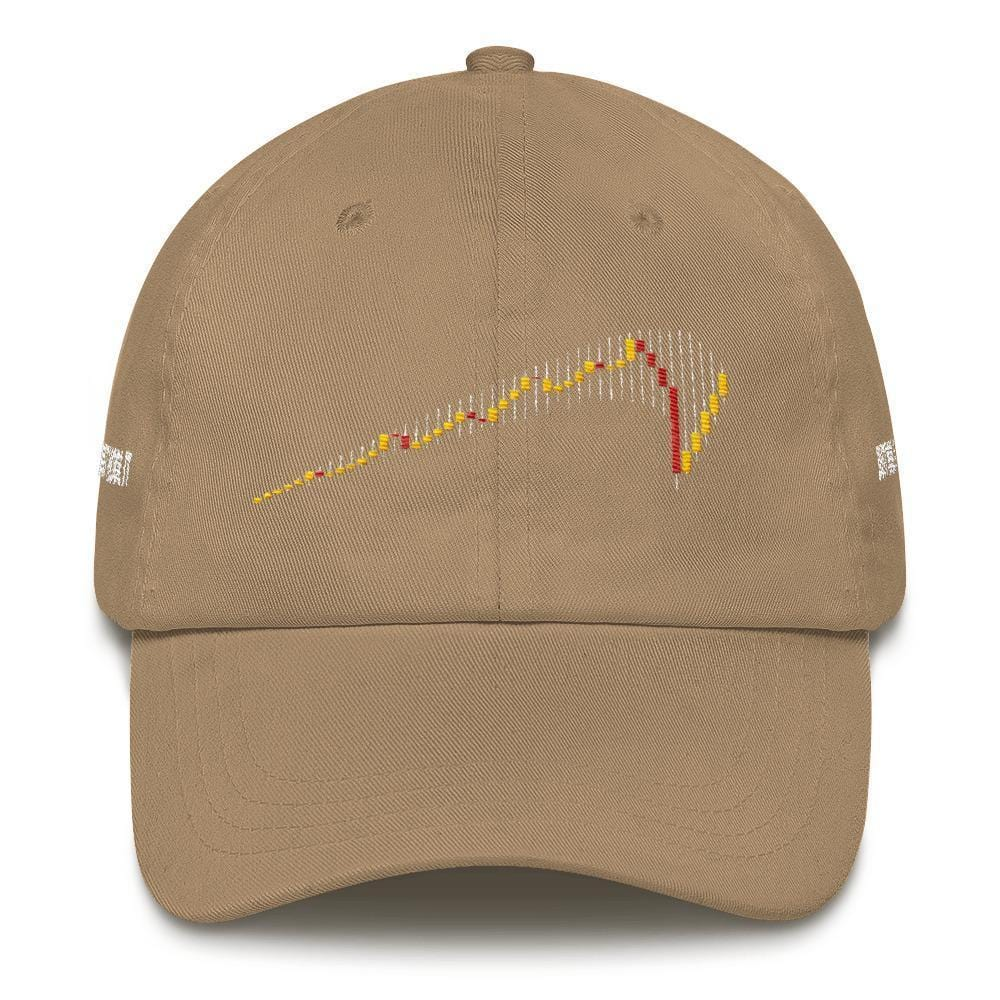 JUST HODL IT Dad Hat-Khaki-CryptoClothe