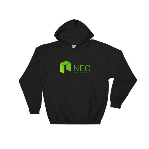NEO Hoodie With Logo-Black-S-CryptoClothe