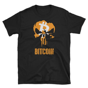 Punisher 1 Bitcoin T-Shirt | Unisex-S-CryptoClothe